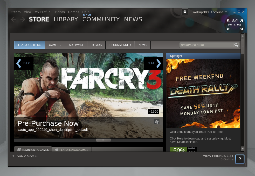 How To Use Steam For Linux Right Now, Without A Beta Account ~ Web ...