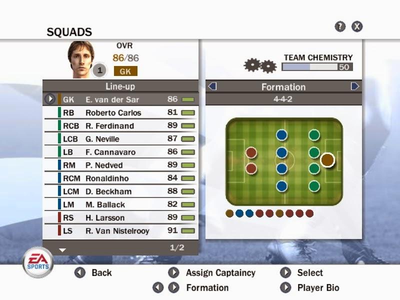 FIFA 08 2015 blog: FIFA 08 2015 New Legends Team