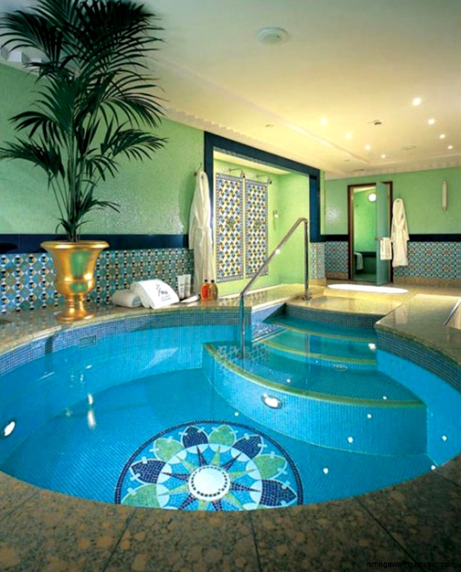 Small desin for indoor swimming pools mega wallpapers for Interior swimming pool
