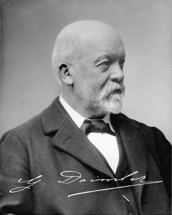 Gottlieb Daimler: Sejarah Mercedes-Benz