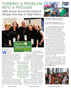 Article in Natural Awakenings Charlotte Magazine 2013