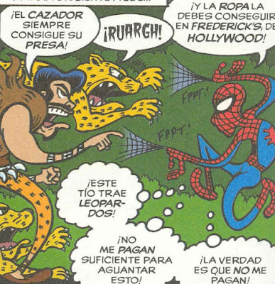 Spiderman declara la guerra al leotardo