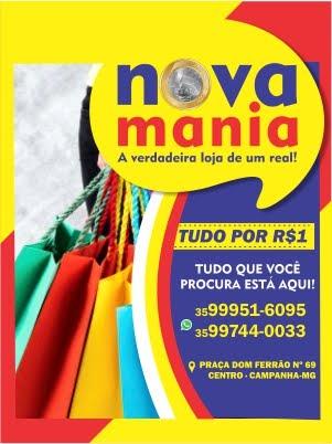 NOVA MANIA R$1 - CAMPANHA