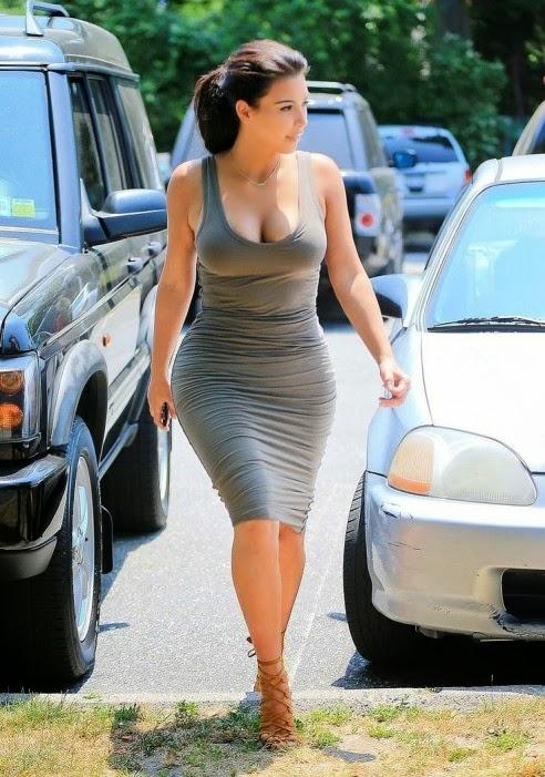 Kim Kardashian Hamptons Looks