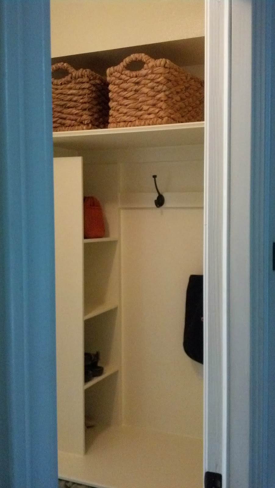 Fix Lovely Convert A Utility Closet Into A Mudroom
