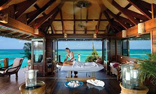 La isla paradisiaca de los millonarios y famosos