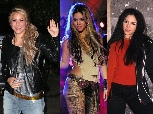 ... El look de Shakira, antes y después de ser rubia   Fans Club Shakira Shakira
