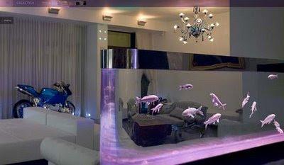 Mi nuevo acuario de pared 60l portalpez acuarios - Peceras en casa ...