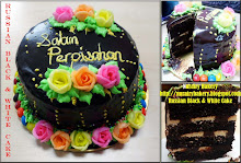 Russian Black & White Cake
