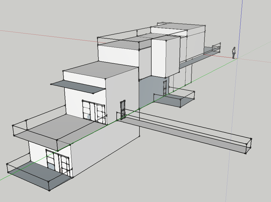 Sketch your house in sketchup livemodern your best for Modern house design sketchup