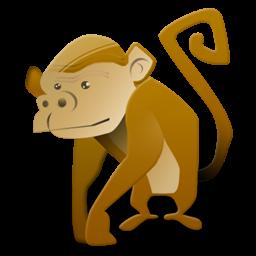 gambar kartun monyet