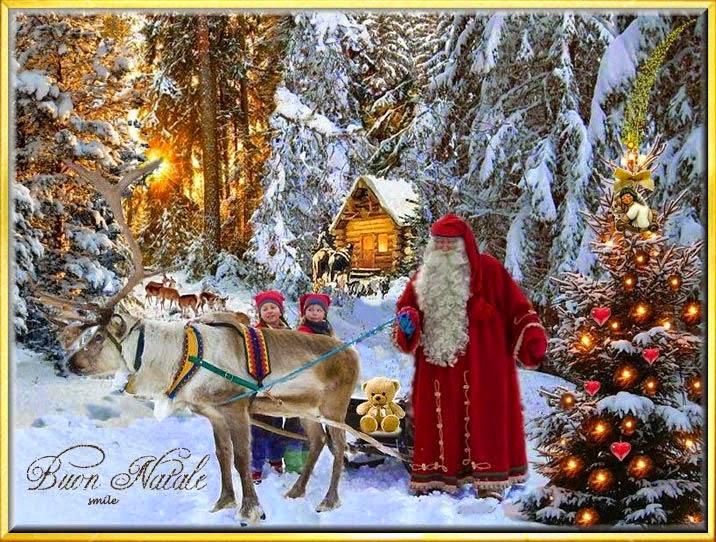 Amici in allegria dicembre 2014 for Immagini cartoline di natale
