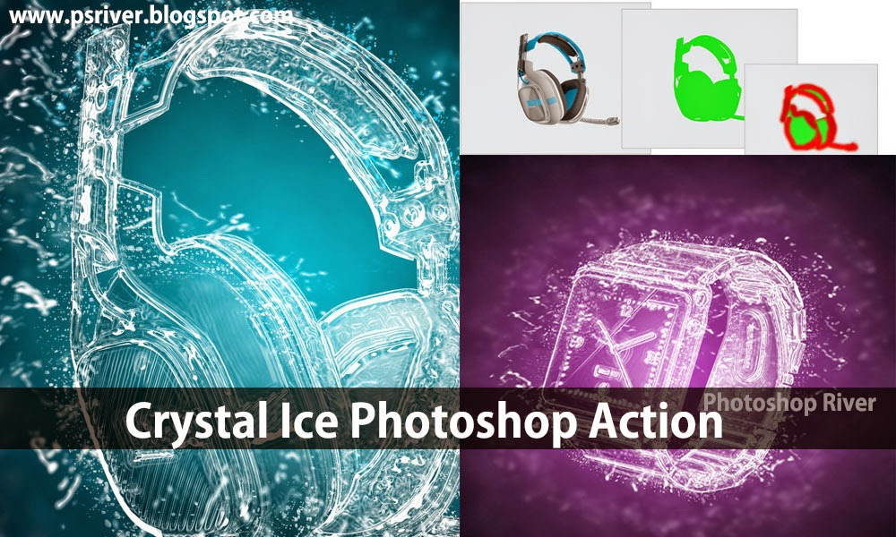 Water Ice Photoshop Action Free Download ~ Photoshop River - Free ...