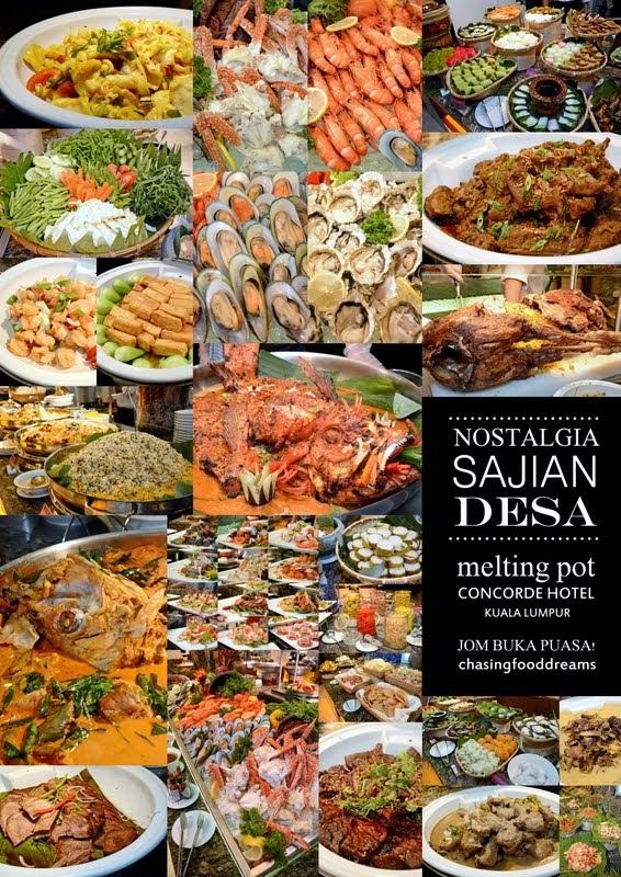 Chasing Food Dreams Melting Pot Cafe Concorde Hotel Kuala Lumpur