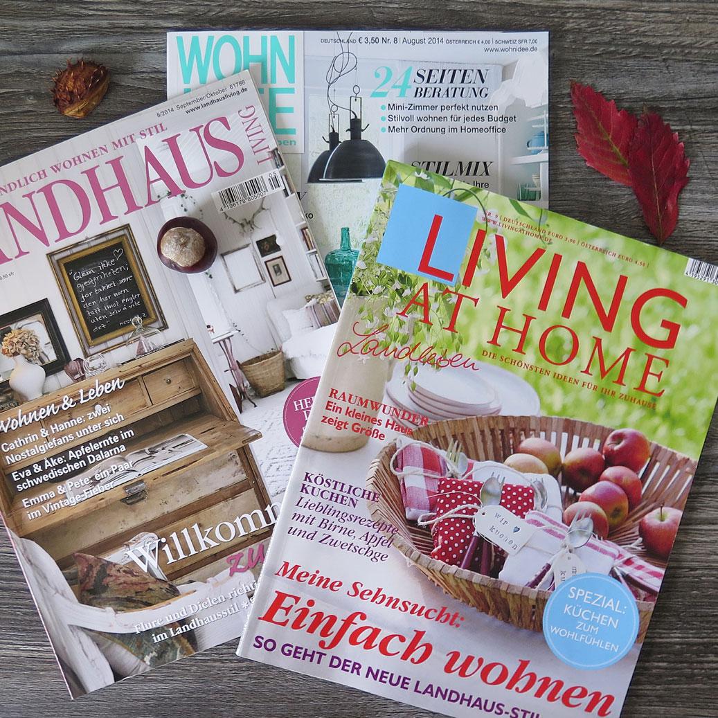 magazine design autumn
