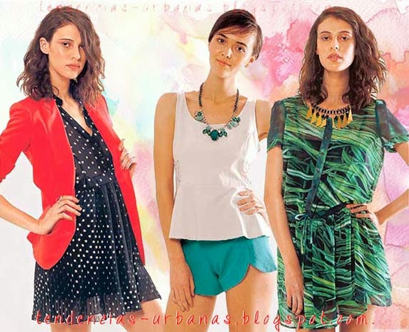 vestidos cortos verano 2014 argentina