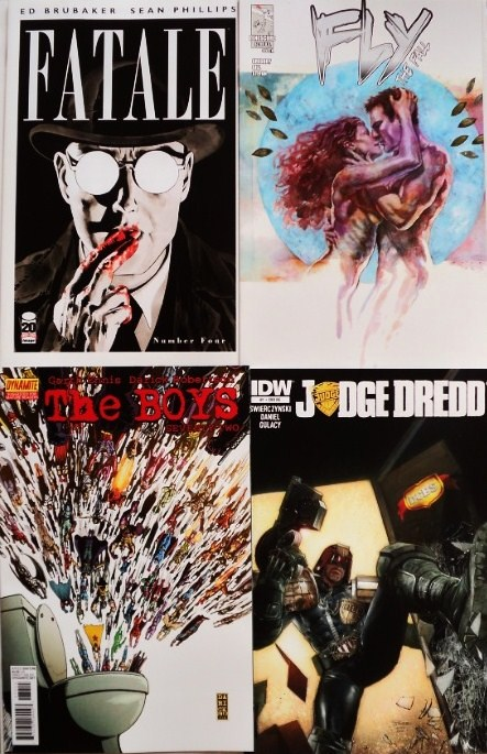 November comic books / cmics de noviembre