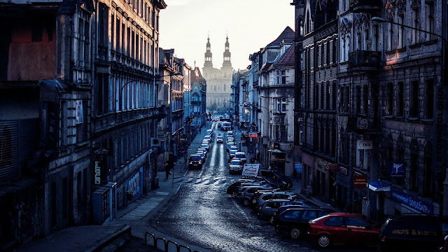 View from Poznan Poland HD Wallpaper