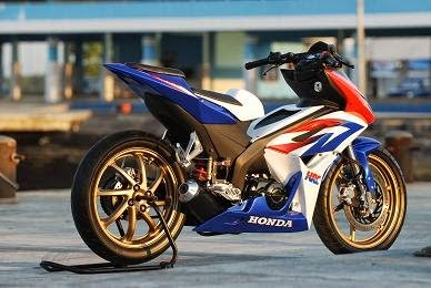 Foto Modifikasi Honda Blade