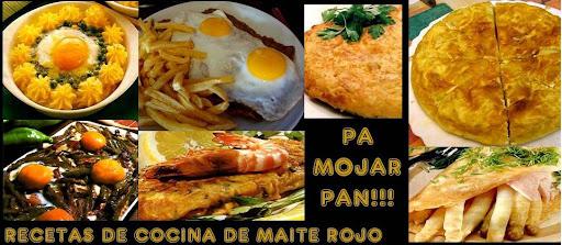 PA MOJAR PAN - HUEVOS Y TORTILLAS