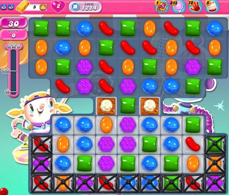 Candy Crush Saga 1214