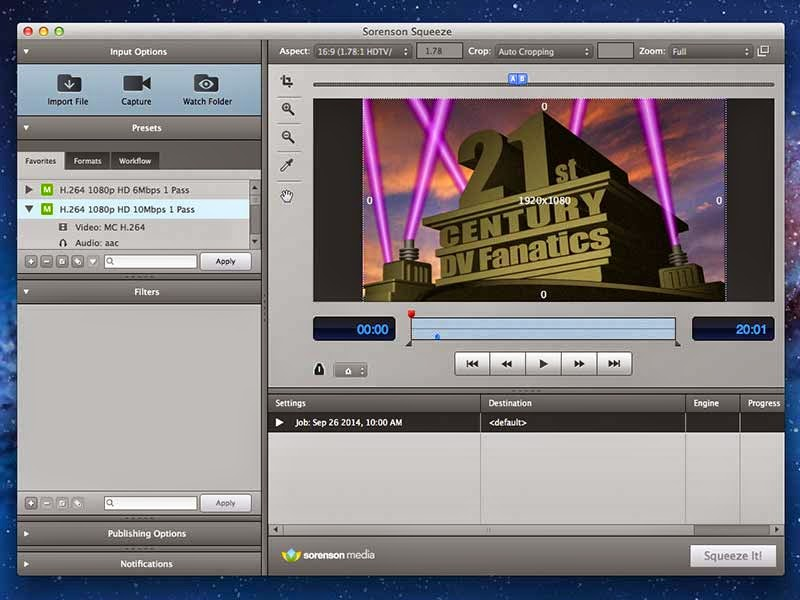 Finding encoding software for your video post production workflow.