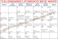 Calendario Liturgico Tradicional