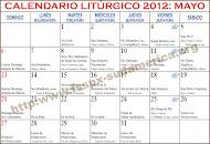 Calendario Liturgico Tradicional