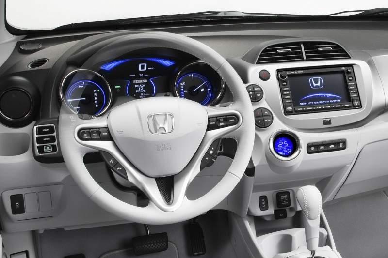 2013 Honda Fit EV Interior