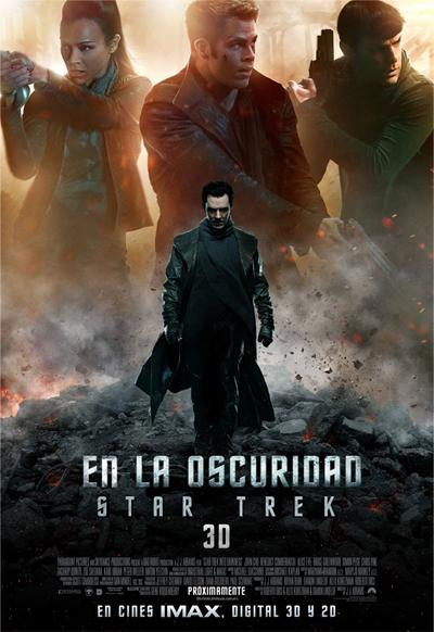 Star Trek - En la Oscuridad: poster imax en español