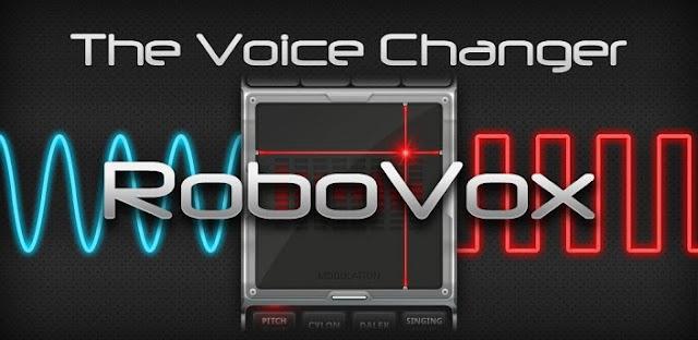 RoboVox - Voice Changer descarga gratis-Torrejoncillo