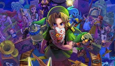 Link: Majora's Mask 3D Version
