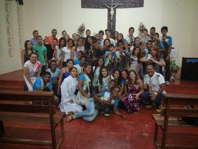 Encontro da Juventude Franciscanos de Piripiri (Distrito Piauí)