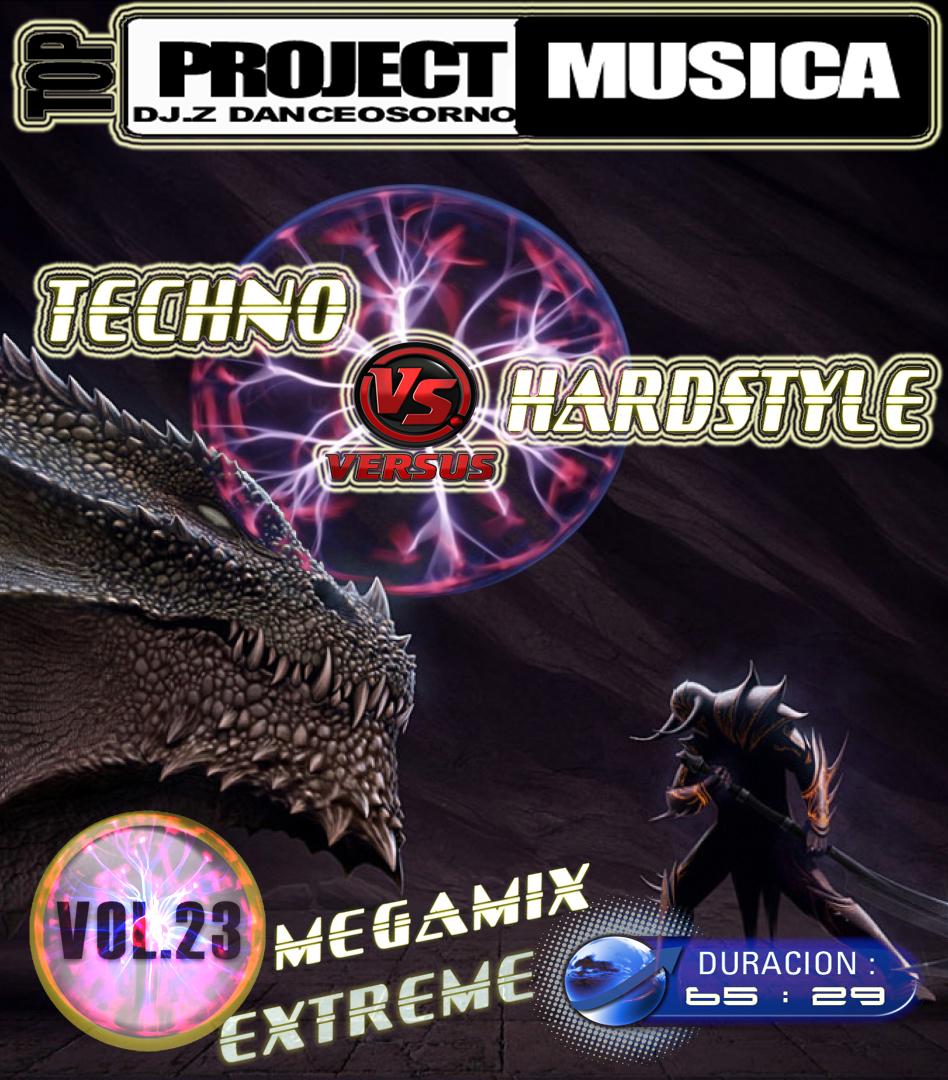 megamix - techno vs hardstyle