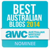 Best Australian Blogs Nominee