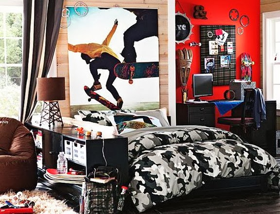 Dormitorios tema skate dormitorios colores y estilos - Habitaciones con graffitis ...