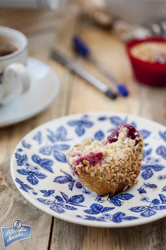 Dietetyczne muffinki z płatkami owsianymi