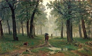 И.Шишкин «Дождь в дубовом лесу»