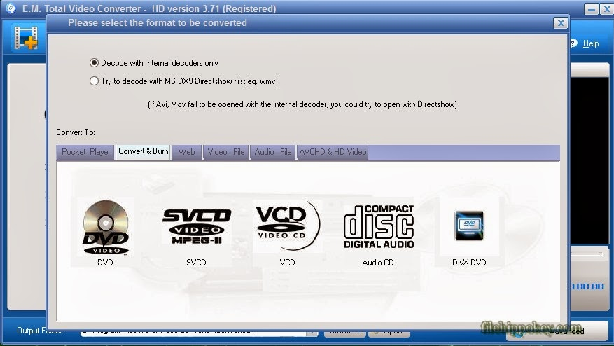 Total Video Converter HD 3.71 Full Version With keys.
