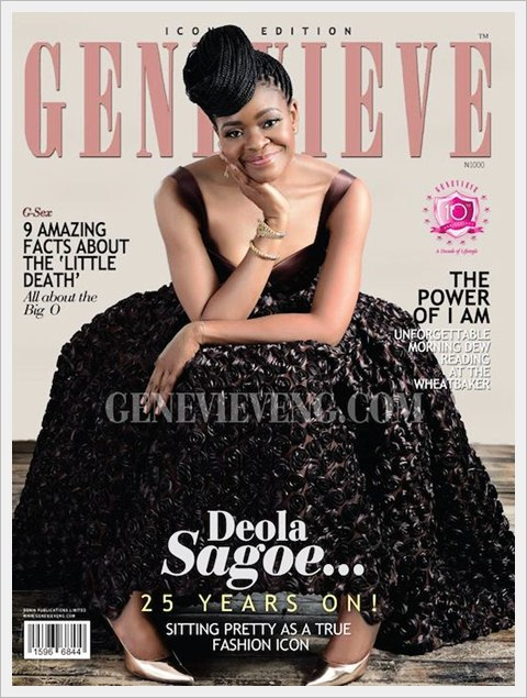 Deola Sagoe On Genevieve's
