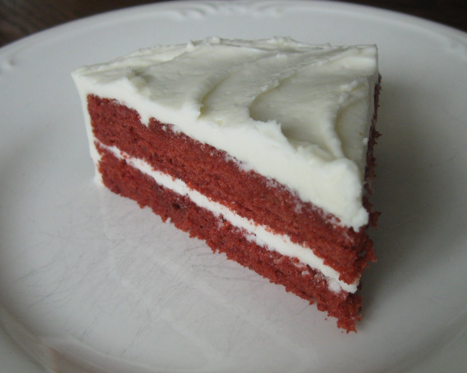 some people think that red velvet cake is just chocolate cake with red ...
