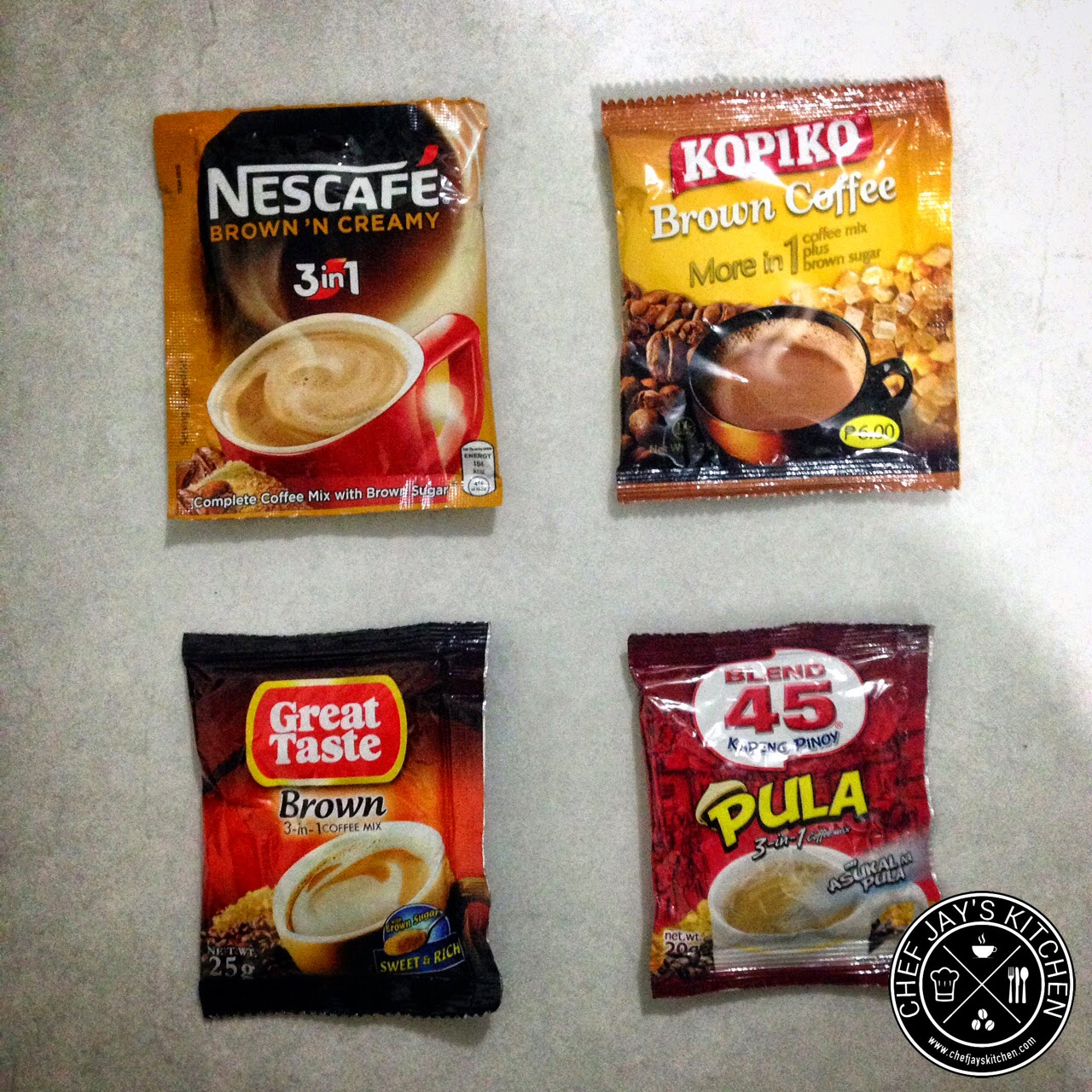 Brown Coffee Brands in the Philippines Review