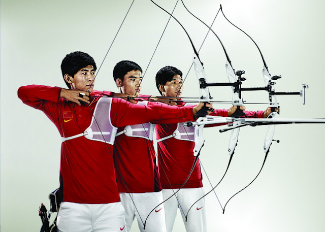 China Archery uniform for london olympic
