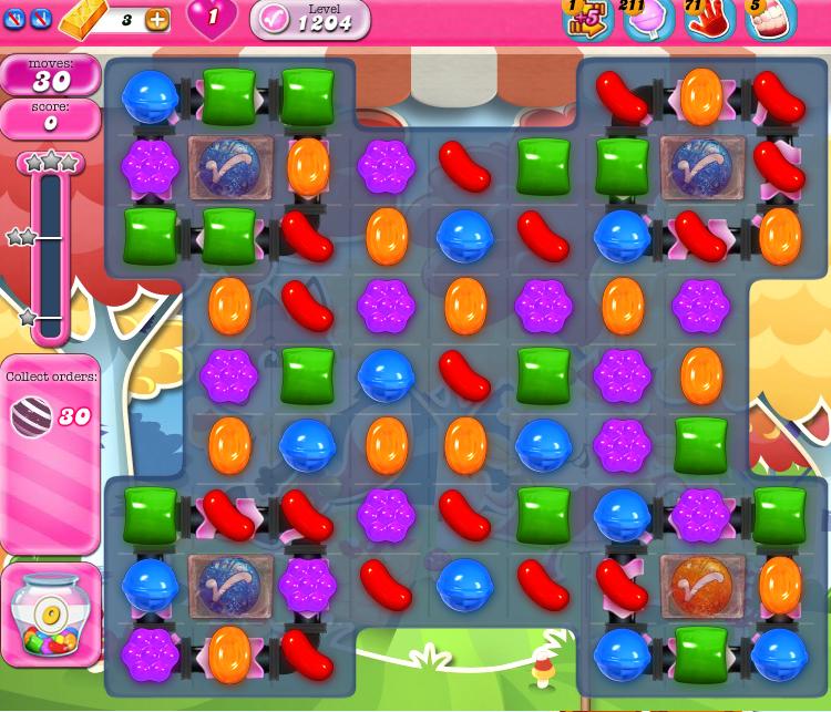 Candy Crush Saga 1204