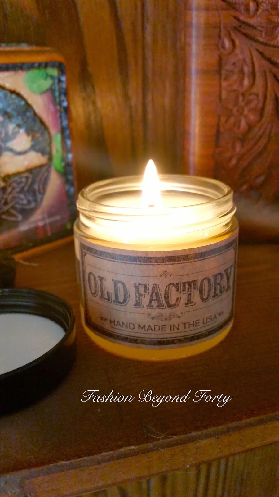 Fashion Beyond Forty Old Factory Candles