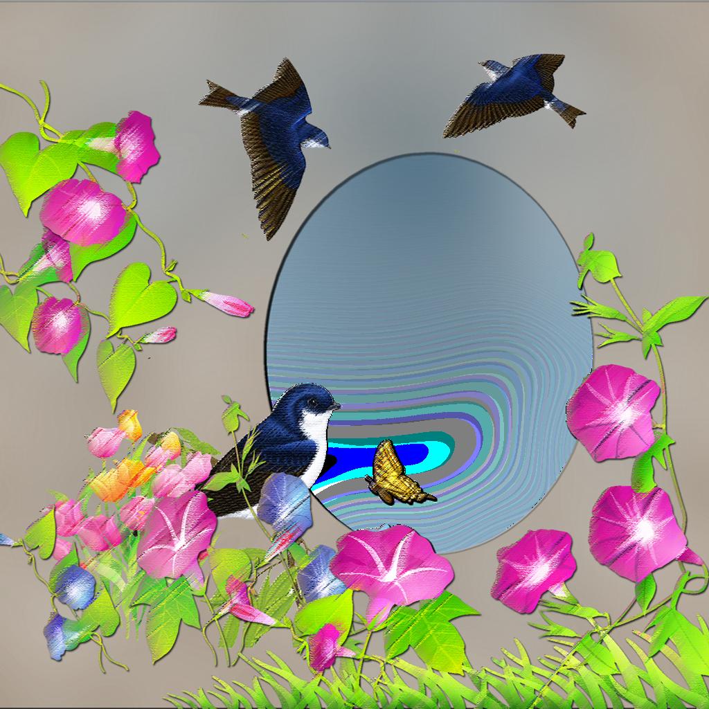 Spring Photoshop Png Frames