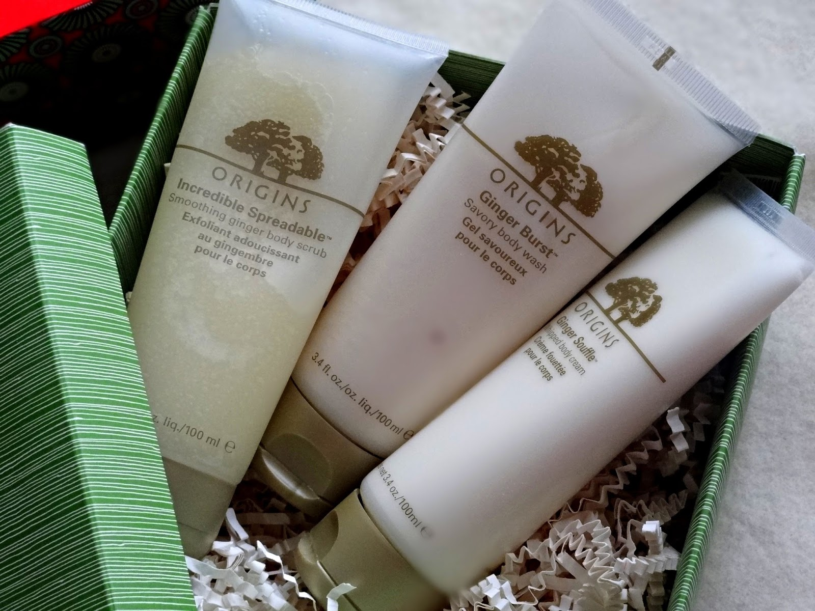 Origins Ginger Treasures Bath and Body Set Review, Photos