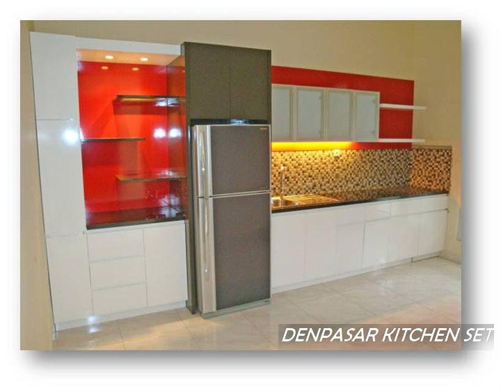 Denpasasar kitchen set for Harga pasang kitchen set