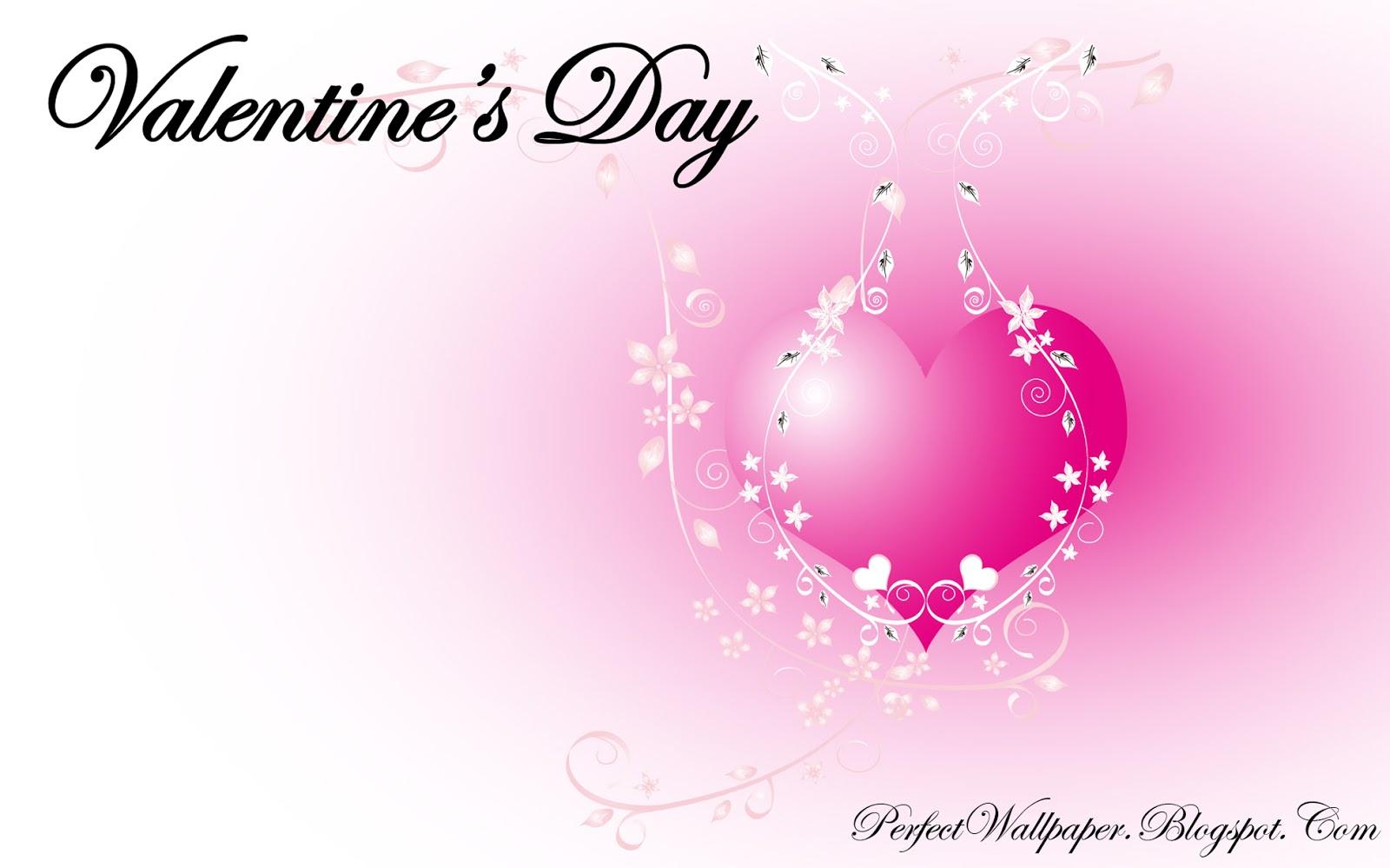 valentine 39 s day pink wallpaper perfect wallpaper. Black Bedroom Furniture Sets. Home Design Ideas