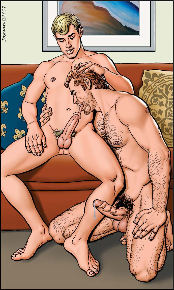 hard core gay cock action